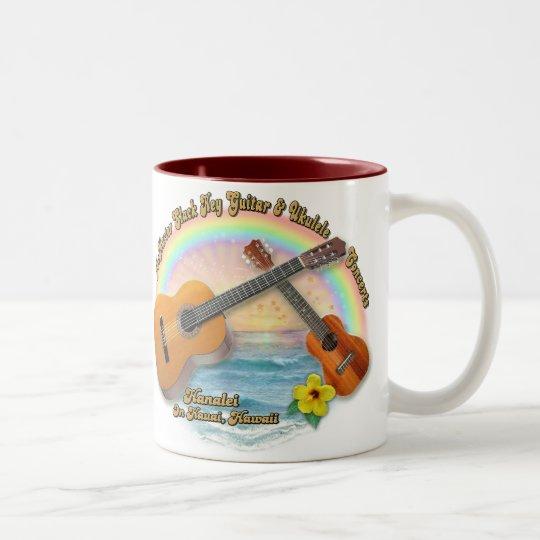 McMaster Slack Key Concerts Two-Tone Coffee Mug