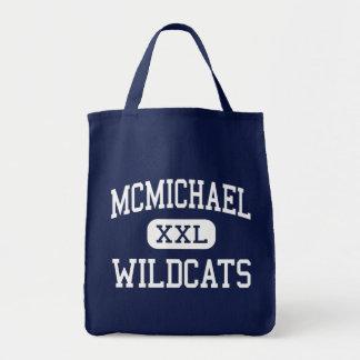 McMichael Wildcats Middle Detroit Michigan Tote Bag