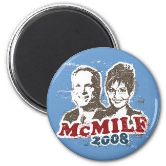 McMilf button 6 Cm Round Magnet