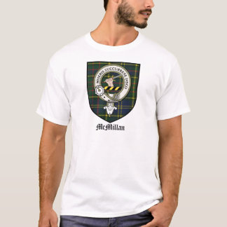 McMillan Clan Crest Badge Tartan T-Shirt