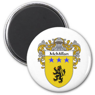McMillan Coat of Arms Mantled Refrigerator Magnet
