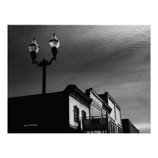 McMinnville Skyline Poster