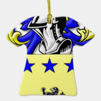 McmMullen Coat of Arms Ceramic T-Shirt Decoration