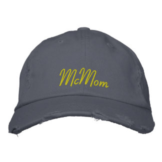 McMom Embroidered Baseball Cap