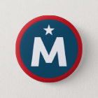 McMullin For President 6 Cm Round Badge