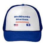 McMurdo Station*, Antarctica Baseball Cap
