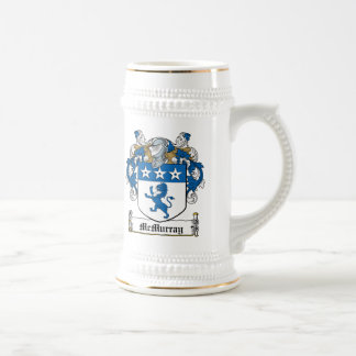 McMurray Family Crest Beer Stein