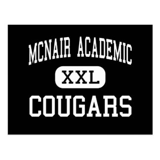 McNair Academic - Cougars - High - Jersey City Postcard