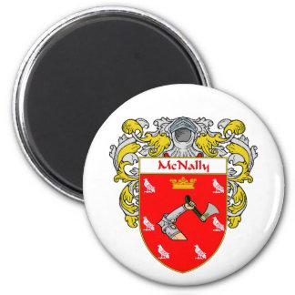 McNally Coat of Arms Mantled Fridge Magnets