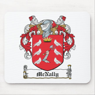 McNally Family Crest Mouse Pads