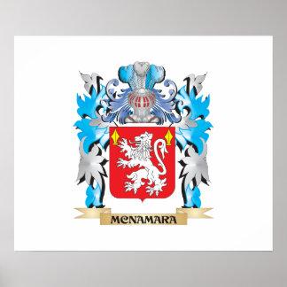 Mcnamara Coat of Arms - Family Crest Posters