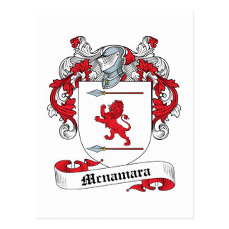 Mcnamara Family Crest Post Card