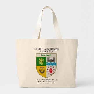 McNeil Family Reunion Large Tote Bag