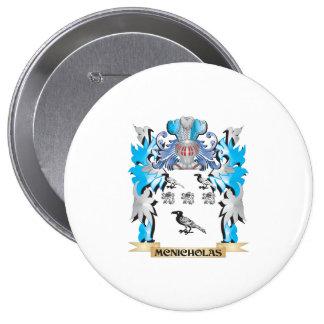 Mcnicholas Coat of Arms - Family Crest 10 Cm Round Badge