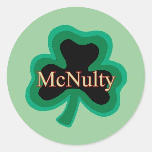 McNulty Family Sticker