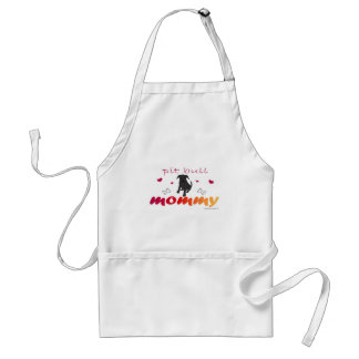 mcoct16 Pit Bull Blk Mommy Standard Apron
