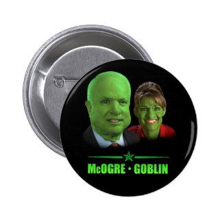 McOgre / Goblin '08 6 Cm Round Badge