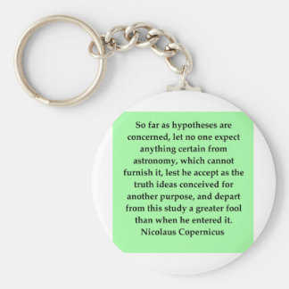 (mcopernicus quote basic round button key ring