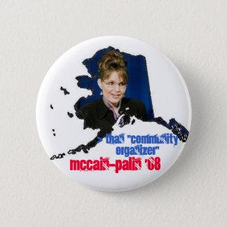 McPalin '08 6 Cm Round Badge