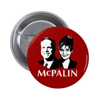 McPalin 2008 Button