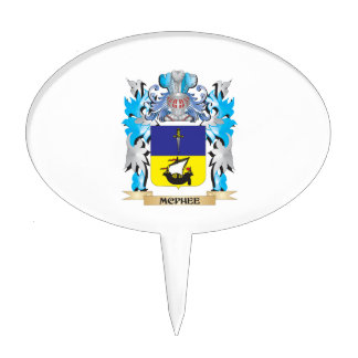 Mcphee Coat of Arms - Family Crest Cake Topper