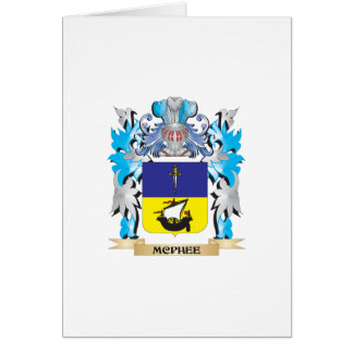 Mcphee Coat of Arms - Family Crest Cards