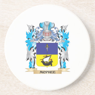 Mcphee Coat of Arms - Family Crest Beverage Coaster