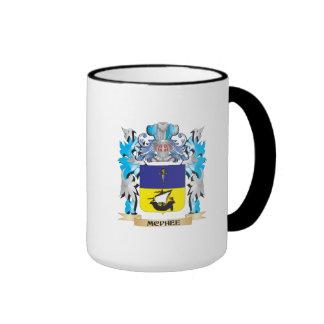 Mcphee Coat of Arms - Family Crest Coffee Mug