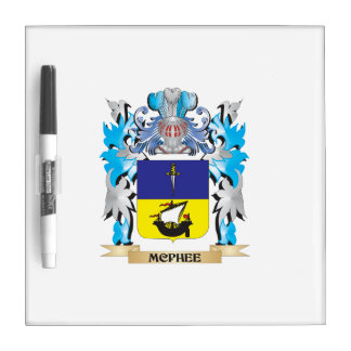 Mcphee Coat of Arms - Family Crest Dry-Erase Boards
