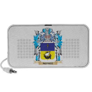 Mcphee Coat of Arms - Family Crest iPhone Speakers
