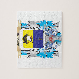 Mcphee Coat of Arms - Family Crest Jigsaw Puzzles