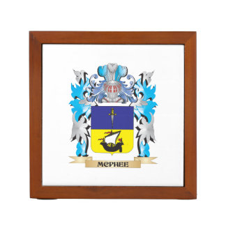 Mcphee Coat of Arms - Family Crest Pencil Holder