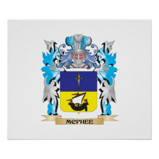 Mcphee Coat of Arms - Family Crest Print