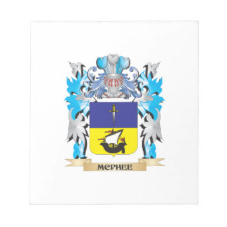 Mcphee Coat of Arms - Family Crest Scratch Pad