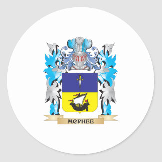 Mcphee Coat of Arms - Family Crest Stickers