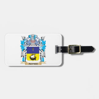 Mcphee Coat of Arms - Family Crest Tag For Bags
