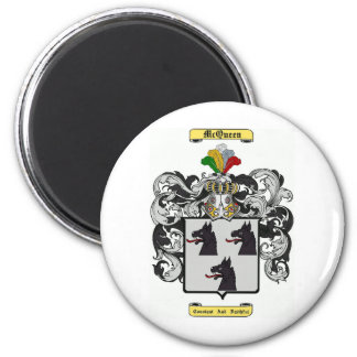 McQueen 6 Cm Round Magnet
