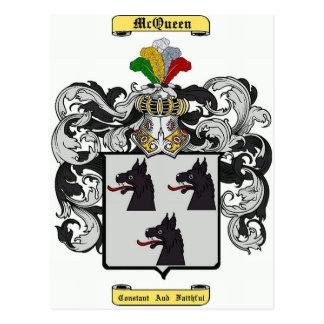 McQueen Postcard
