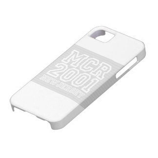 MCR Simple White Case iPhone 5 Cover