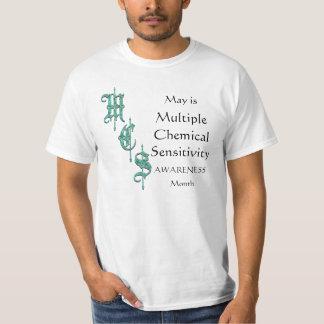 MCS Multiple Chemical Sensitivity Awareness Tshirt