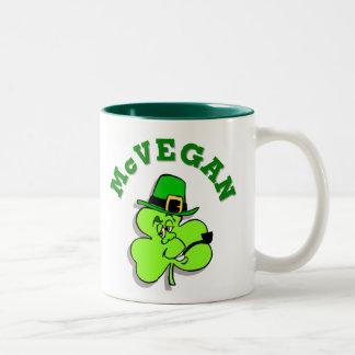 McVegan Funny St. Patrick's Day Mug