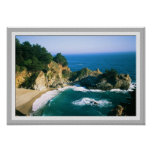 McWay Cove Waterfall Poster