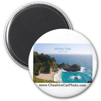 McWay Falls Big Sur California Products Refrigerator Magnet