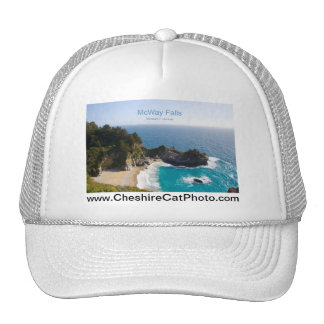 McWay Falls Big Sur California Products Mesh Hat