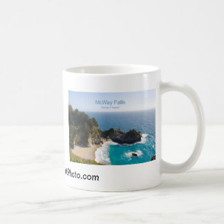 McWay Falls Big Sur California Products Coffee Mugs