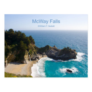 McWay Falls Big Sur California Products Postcards