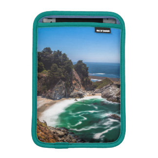 Mcway Falls in Julia Pfeiffer Burns state park iPad Mini Sleeve