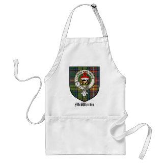 McWhirter Clan Crest Badge Tartan Standard Apron