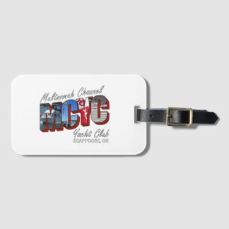 MCYC luggage tag with business card slot