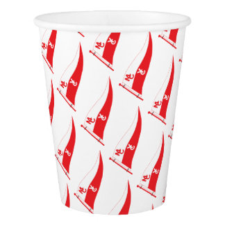 MCYC party supplies with burgee Paper Cup